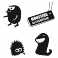 Sticker Pack monstres 2 - stickers monstre & autocollant voiture - stickmycar.fr