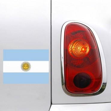 Sticker Drapeau Argentine - stickers drapeaux & stickers auto - stickmycar.fr