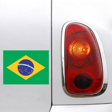 Sticker Drapeau Brésil - stickers drapeaux & stickers auto - stickmycar.fr