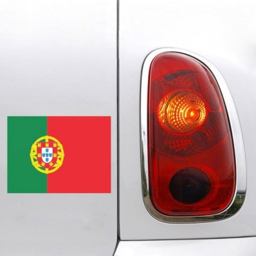 Sticker Drapeau Portugal - stickers drapeaux & stickers auto - stickmycar.fr
