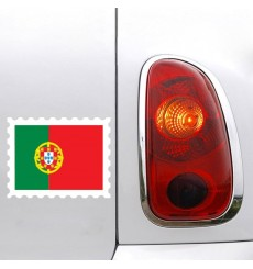 Sticker Drapeau Portugal