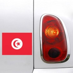 Sticker drapeau Tunisie