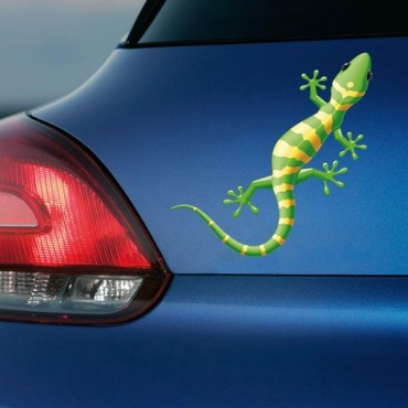 Sticker Salamandre verte - stickers animaux & autocollant voiture - stickmycar.fr