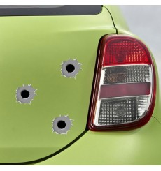 Sticker Impacts de balles