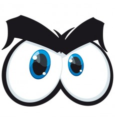 Sticker Yeux cartoon 4