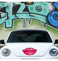 Sticker Lèvres glossy