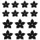 Sticker Fleurs étoiles - stickers fleurs & autocollant voiture - stickmycar.fr