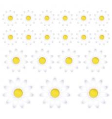 Sticker Fleurs marguerite