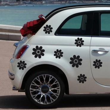 Sticker Fleurs pétales - stickers fleurs & stickers auto - stickmycar.fr