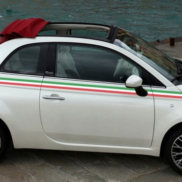 Sticker Bande Italie - stickers bandes & stickers auto - stickmycar.fr
