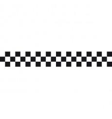 Sticker Damier 3 lignes