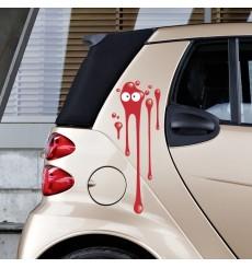 Sticker Tâche rouge