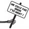 Sticker Me colle pas sinon t'es mort - stickers humour & autocollant voiture - stickmycar.fr