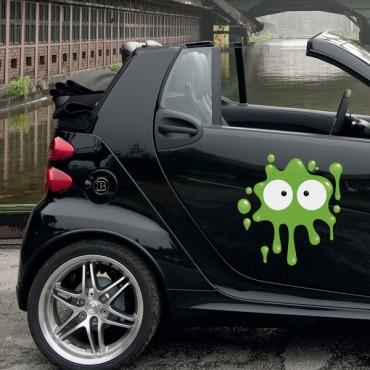 Sticker Tâche vert clair - stickers tâches & autocollant voiture - stickmycar.fr