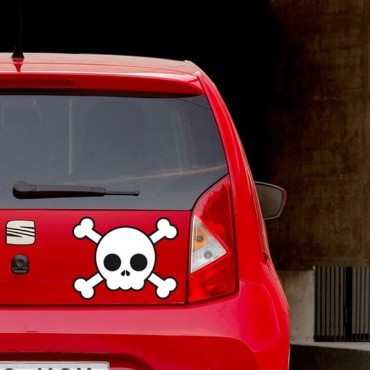 Sticker Skull - stickers tête de mort & stickers auto - stickmycar.fr