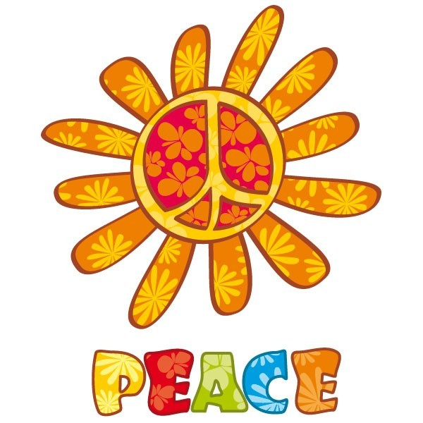 Fleurs Peace And Love