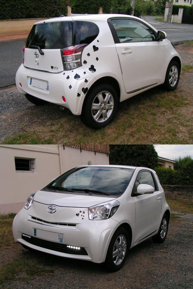 Stickers Toyota Iq