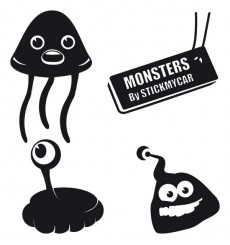 Sticker Pack monstres