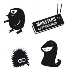 Sticker Pack monstres 2