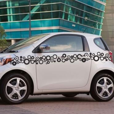 Sticker Frise bulles - stickers frise & autocollant voiture - stickmycar.fr