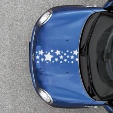 Sticker Frise étoiles