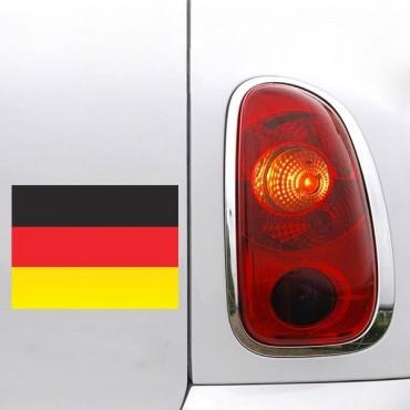 Sticker Drapeau Allemagne - stickers drapeaux & stickers auto - stickmycar.fr