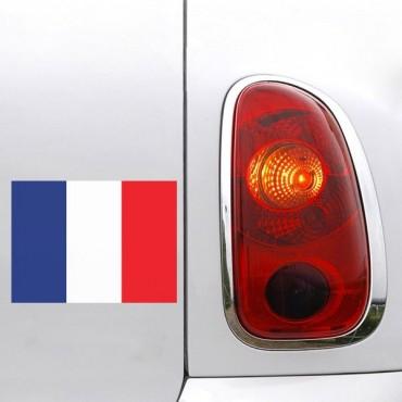Sticker Sticker drapeau France - stickers drapeaux & stickers auto - stickmycar.fr