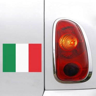 Sticker Drapeau Italie - stickers drapeaux & stickers auto - stickmycar.fr
