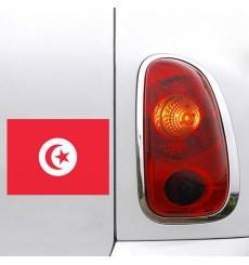 Sticker Sticker drapeau Tunisie