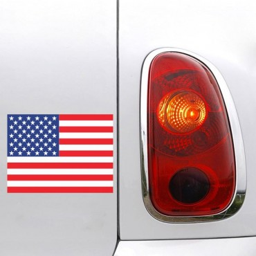 Sticker Sticker drapeau USA - stickers drapeaux & stickers auto - stickmycar.fr