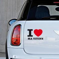I love ma titine