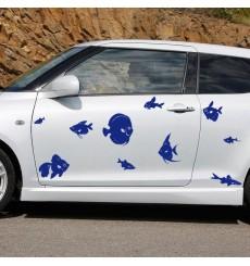 Sticker Pack poissons