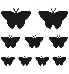 Sticker Papillons design