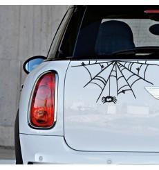 Sticker Toile d'araignée