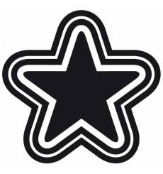 Sticker Single star