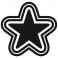 Sticker Single star - stickers étoiles & stickers auto - stickmycar.fr
