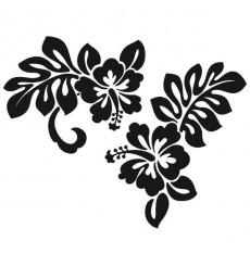 Sticker Hibiscus