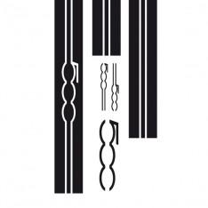 Sticker Kit complet bandes 500