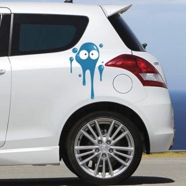 Sticker Tâche bleu foncé - stickers tâches & autocollant voiture - stickmycar.fr