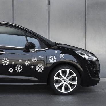 Sticker Flocon - stickers design & autocollant voiture - stickmycar.fr