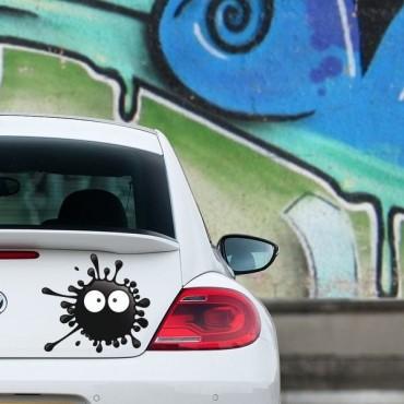 Sticker Tâche noire - stickers tâches & autocollant voiture - stickmycar.fr