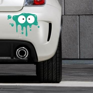 Sticker Tâche vert foncé - stickers tâches & stickers auto - stickmycar.fr